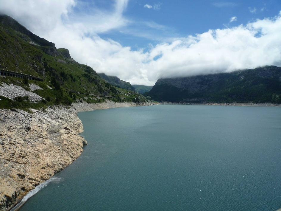 Grosses transalp genf nizza - Lac du chevril ...