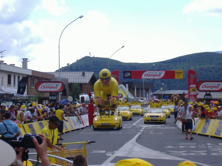 Werbekarawane/Tour de France