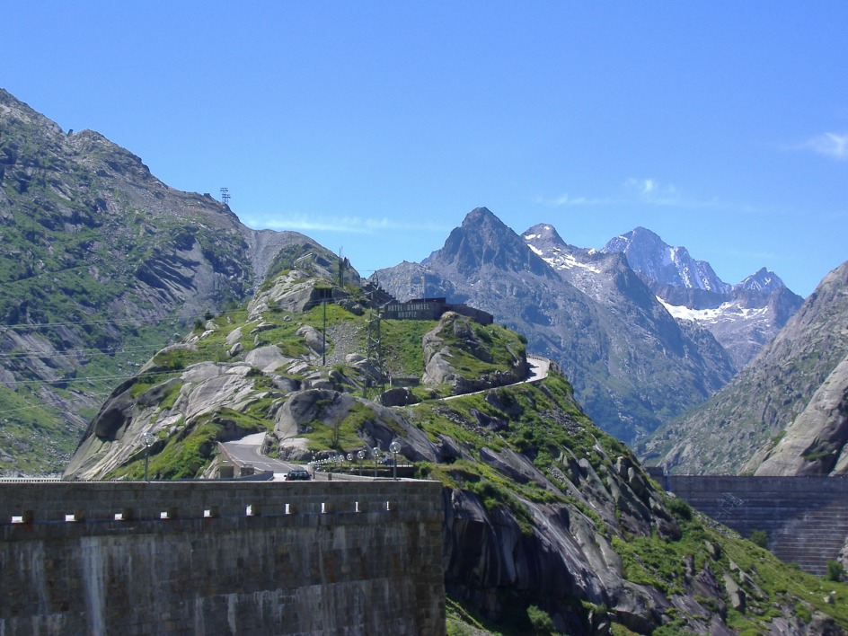 Anstieg Grimselpass5